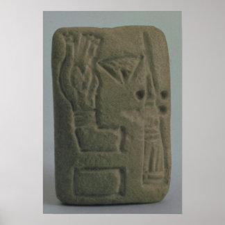 Documento que consiste en ideogramas, de Uruk, Posters