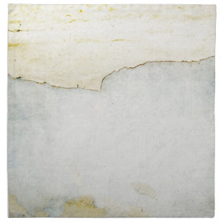 documento rasgado sobre azul del fondo de la pared servilleta imprimida
