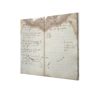 Documentos mercantiles, letra de la aceptación de  impresión en lienzo