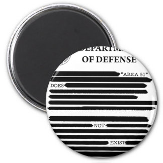 DoD Area 51 2 Inch Round Magnet