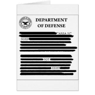 DoD Area 51 Card