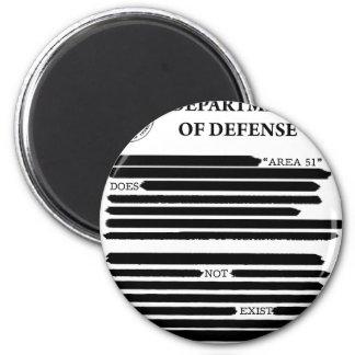DoD Area 51 Fridge Magnets