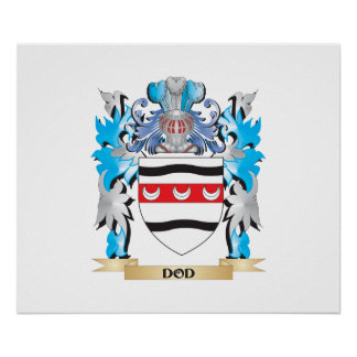 Dod Coat of Arms - Family Crest Posters
