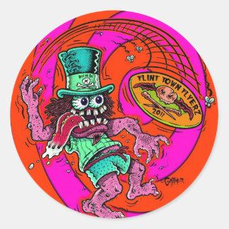 DOD - Disc Golf Classic Round Sticker