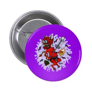 DOD - Disc Golf Pinback Button
