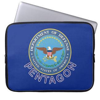 DOD Pentágono Funda Computadora