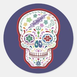 DOD -trippy Classic Round Sticker