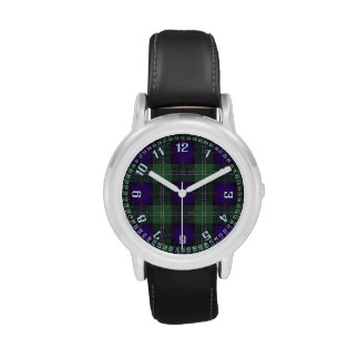 Dodd clan Plaid Scottish kilt tartan Wrist Watches