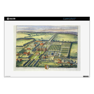 Doddington in the county of Lincoln engraved by Jo Decals For Laptops
