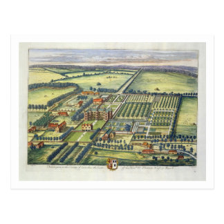 Doddington in the county of Lincoln engraved by Jo Postcard