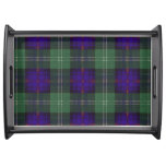 Dodds clan Plaid Scottish kilt tartan Serving Tray