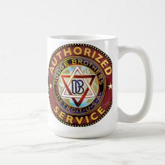 Dodge brothers sign coffee mugs