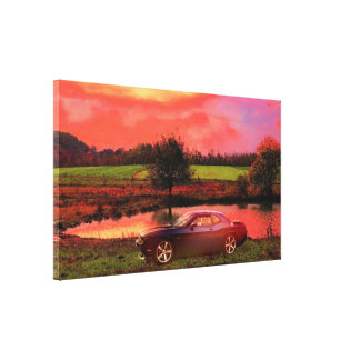 Dodge Challenger 392 Hemi Canvas Print