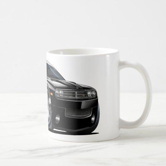 Dodge Challenger Black Car Coffee Mug