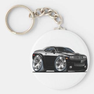 Dodge Challenger Black Car Key Chains