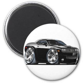 Dodge Challenger Black Car Magnet