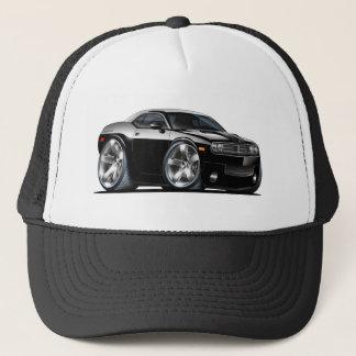 Dodge Challenger Black Car Trucker Hat