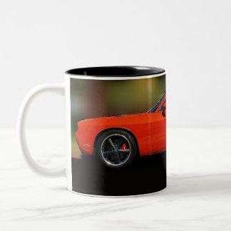 DODGE CHALLENGER COFFEE CUP Two-Tone COFFEE MUG