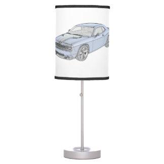 Dodge Challenger Desk Lamp