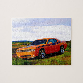 Dodge Challenger Jigsaw Puzzle