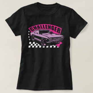 Dodge Challenger Muscle Car T-shirt for Girls