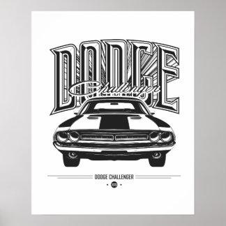 Dodge Challenger | Poster