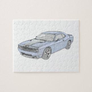 Dodge Challenger Puzzle