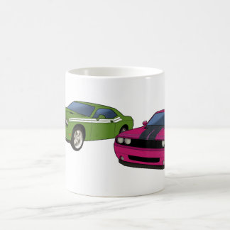 Dodge Challenger race Classic White Coffee Mug