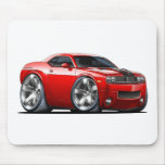 Dodge Challenger Red Car Mouse Pad