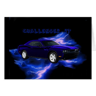 Dodge Challenger RT Greeting Card