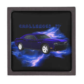 Dodge Challenger RT Keepsake Box