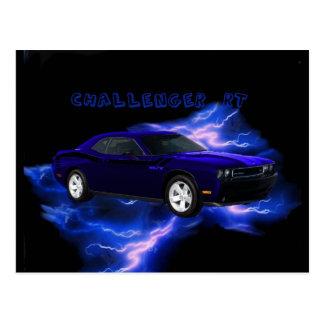 Dodge Challenger RT Postcard