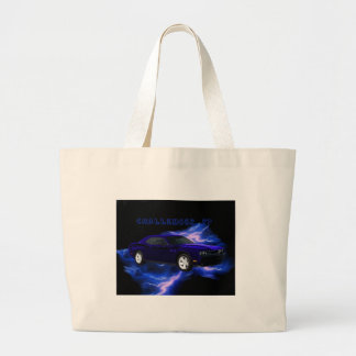 Dodge Challenger RT Tote Bags