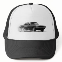 DODGE CHALLENGER SRT. TRUCKER HAT