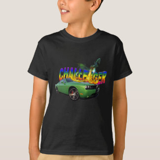 """DODGE CHALLENGER  vs FIRE DRAGON"" T-Shirt"