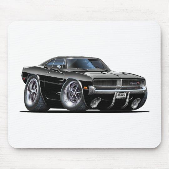 Dodge Charger Black Car Mouse Pad