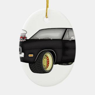 dodge charger ceramic ornament