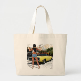 Dodge Charger Chick Tote Bag