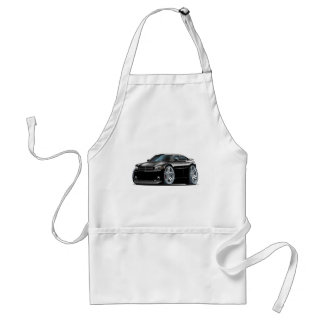 Dodge Charger Daytona Black Car Adult Apron