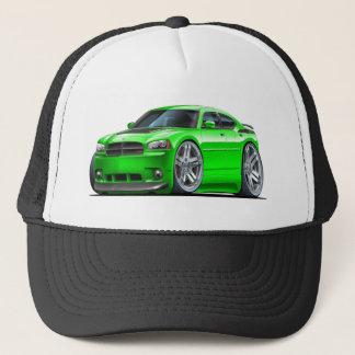 Dodge Charger Daytona Green Car Trucker Hat