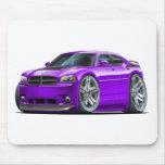 Dodge Charger Daytona Purple Car Mousepad