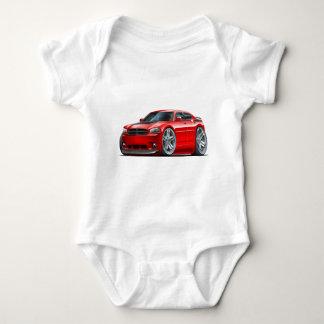 Dodge Charger Daytona Red Car Baby Bodysuit
