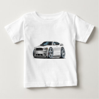 Dodge Charger Daytona White Car Baby T-Shirt