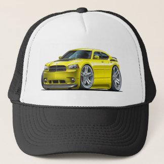 Dodge Charger Daytona Yellow Car Trucker Hat