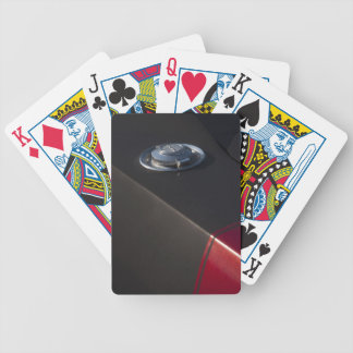 Dodge Charger Fuel cap Bicycle Playing Cards