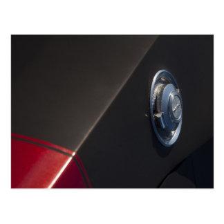 Dodge Charger Fuel cap Postcard