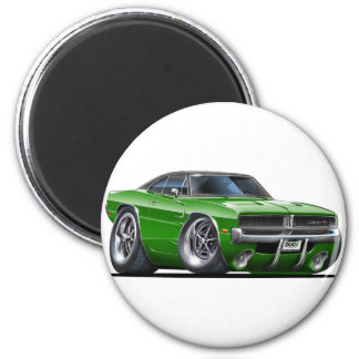 Dodge Charger Green Car Magnet