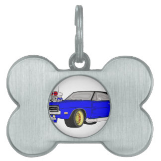 dodge charger pet ID tag