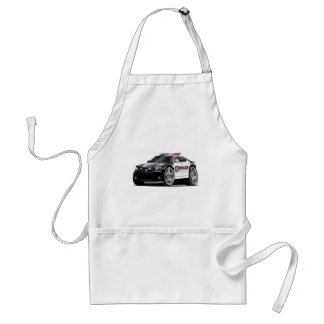 Dodge Charger Police Car Adult Apron