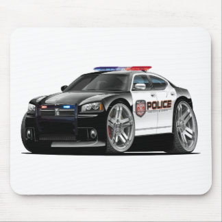 Dodge Charger Police Car Mouse Pad